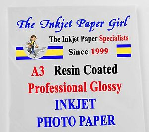 A3 260g RC Professional Glossy Photo Inkjet 25 sheets