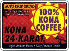 LION 24 KARAT 100% KONA COFFEE WHOLE BEANS 7 OZ BAG