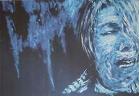 NEGATIV SERIE - original Porträt - signiert Gemälde Druck - Sammlerstück selten2