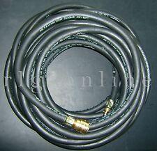 Gummi-Druckluftschlauch-Garnitur  ID:9/AD:16mm  L: 10m  Druckstufe:20/60bar