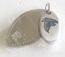 NFL * Atlanta Falcons * Stainless Steel Logo 2 Piece Dog Tag * Jewelry * New