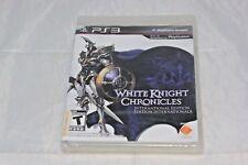 White Knight Chronicles International Edition Sony PlayStation 3, 2010 NEW