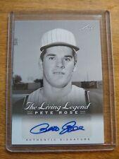 "PETE ROSE 2012 Leaf ""The Living Legend"" Auto Autograph Card # 1 REDS HOF?"