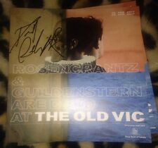 DANIEL RADCLIFFE SIGNED ROSENCRANTZ & GUILDENSTERN ARE DEAD THEATRE PROGRAMME