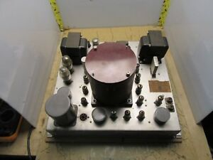 vintage RCA BW-11A broadcast frequency monitor MI-30011-A radio [4*L-20]