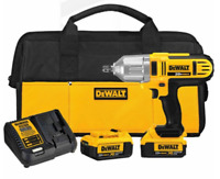 DEWALT DCF889M2 20V MAX Lithium 1/2-Inch Impact Wrench W/Detent Pin &  2 Battery
