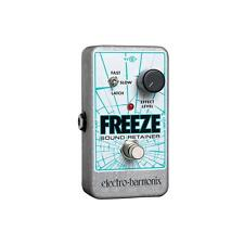 Electro-Harmonix Freeze Sound Retainer Guitar Pedal