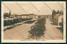 Reggio Emilia Reggiolo cartolina QK0333
