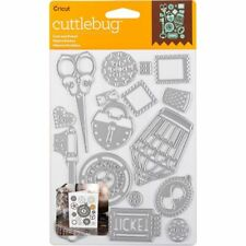 Cricut Cuttlebug Cut & Emboss Die Set - Lost and Found  NEW   FREE FAST SHIPPING