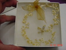 """Anklet 9"""" Hand Made Beaded"""