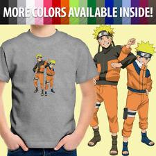 Toddler Kids Tee Youth T-Shirt Naruto Uzumaki Shippuden Anime Manga Ninja Hokage