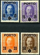 Austria 1917 Overprint Postage Due Issues Complete Set 4 MH Scott's J60 to J63