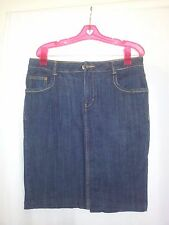 H & M ladies denim skirt euro size 40 blue