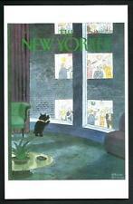 Charles Addams : Copertina per The New Yorker del 1983 - cartolina moderna