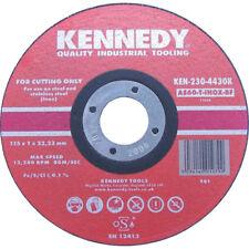 Kennedy 115x1x22.23mm AS60 INOX BF CUT-OFF  Cutting DISC pack of 5