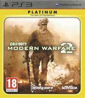 Jeu Call Of Duty COD Modern Warfare 2 / PlayStation PS3 / Platinum Edition Neuf