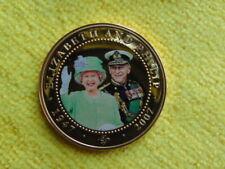$1 Coin Cook Islands 2007 Queen Elizabeth-Philip
