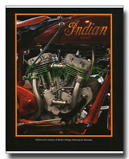 Indian Scout 750cc 45ci engine framed picture flathead V-twin