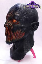 Brimstone Demon Adult Mask Evil Wicked Fire Demon Halloween Mask