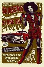 Queens of The Stone Age cool Rare Hard Rock Band TShirt S-3XL poster prints