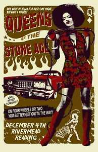 Queens Of The Stone Age Rock Band Music Poster Print T1525