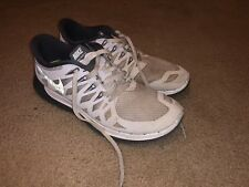 Nike Free 5.0+ Running Athletic Shoe Women's SIZE 9 White Grey