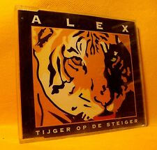 MAXI Single CD Alex Tijger Op De Steiger 2TR 1994 Dutch Pop Rap House Ambiance