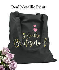 Bridesmaid Tote Bags Personalized Tote Bags