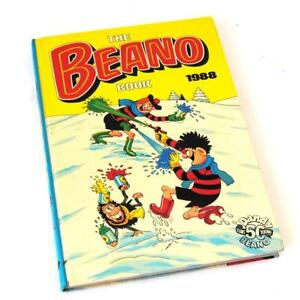 The Beano Book Annual Vintage 1988 D.C Thomson FREE UK Postage
