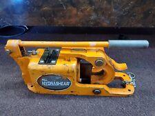 Pell Hydrashear C 1750 Manual Hydraulic Wire Rope Cutter As Is