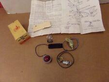NOS PONTIAC 1963 BONNEVILLE CATALINA ACCESSORY E-BRAKE WARNING LAMP KIT   10