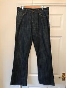 """Mens M&S Autograph Jeans W34"""" L31"""" Bootcut"""