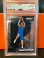 2018-19 PANINI PRIZM #280 LUKA DONCIC DALLAS MAVERICKS RC ROOKIE PSA 10 GEM MINT