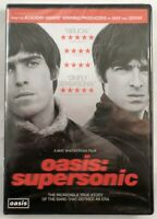 Oasis: Supersonic DVD NEW - Oasis, Liam Gallagher, Noel Gallagher