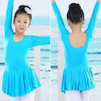 Colorful New Kids Girls Ballet Costume Tutu Skirt Gymnastics Leotard Dance Dress