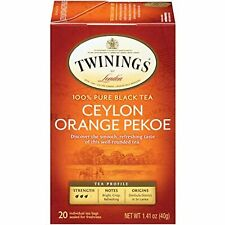 Twinings of London Ceylon Orange Pekoe Tea Bags