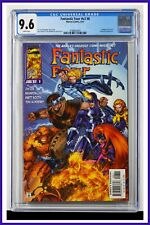 Fantastic Four #v2 #8 CGC Graded 9.6 Marvel June 1997 White Pages Comic Book.