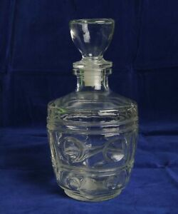 Jean Forelle London Clear Glass Decanter