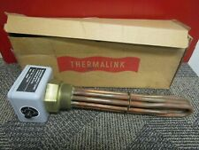 """NEW THERMALINK/SCEPTER IMMERSION HEATER 1175-3-425 240V 4500W  2"""" NPT 11-1/2"""" L"""