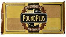 3 Bars - Fresh Trader Joe's milk chocolate Belgium Pound Plus Bars 17.6 Oz