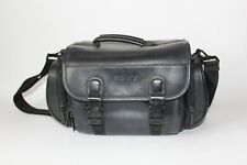 Official SONY Vintage Leather Carry Case for Camcorders Handycam With Strap VGC