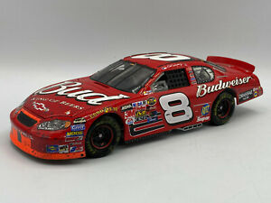 Action Dale Earnhardt Jr Budweiser Bristol Raced 2004 Chevy Monte Carlo NASCAR