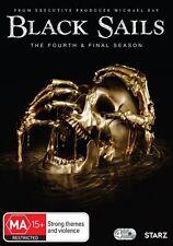BLACK SAILS-Season 4-Region 4-New AND Sealed-4 Disc Set-TV Series