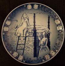 Hans Christian Andersen's THE PRINCESS & THE PEA Plate ROYAL COPENHAGEN
