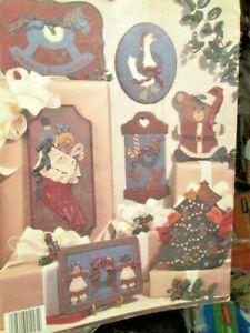 Cut 'N' Paint Christmas Craft Book #3-Steinmetz-Joy Bears/Rocking Horse/Santa Cl