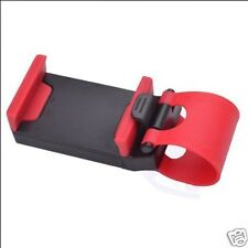Universal Car Steering Wheel Mobile Phone Mount Socket Holder For Apple Samsung