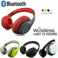 Foldable Wireless Stereo Bluetooth Headphone Headset Earphone For iPhone Samsung