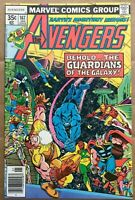 Avengers #167 1977 1st Avengers Guardians of the Galaxy Team-Up High Grade VF/NM