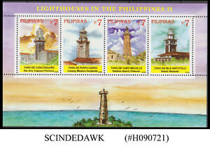 PHILIPPINES - 2006 LIGHTHOUSE IN THE PHILIPPINES II - MIN. SHEET MNH
