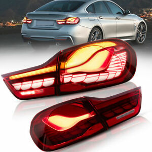 VLAND Taillights Red Dragon scale Style For 2014-2020 BMW F32 F33 F36 M4 F82 F83